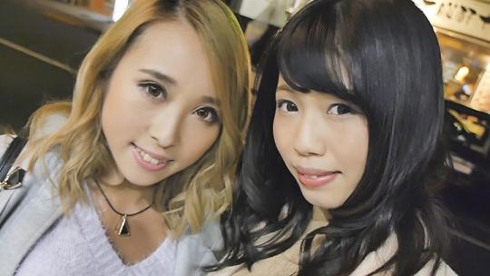 街でナンパした2人組 アイリちゃん(20歳)カナちゃん(20歳)