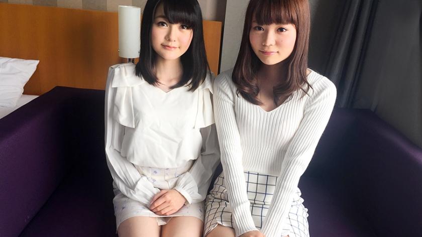 【初撮り】ネットでAV応募→3P初体験撮影 001