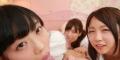 【VR】SODstar市川まさみ、桐谷まつり、戸田真琴の3人に囲まれ最初から最後までひたすらベロキスされながら密着囁きハーレム手コキッス