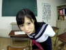 【VR】キスとヨダレと手コキ責め、おまけにフェラと乳首責め ver女子高生 栄川乃亜